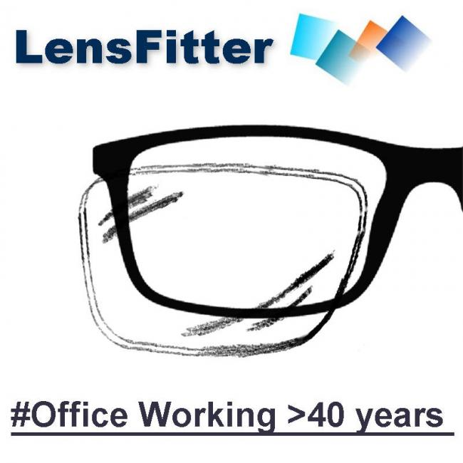 Office working >40 years old